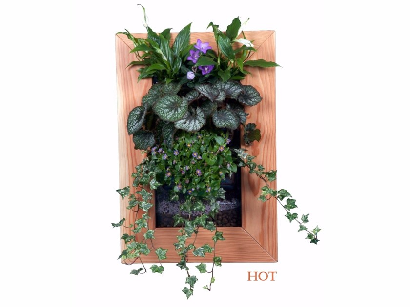Fioriera da muro per quadri vegetali e giardini verticali BIOVERTIGO by LOUNGE-TEK