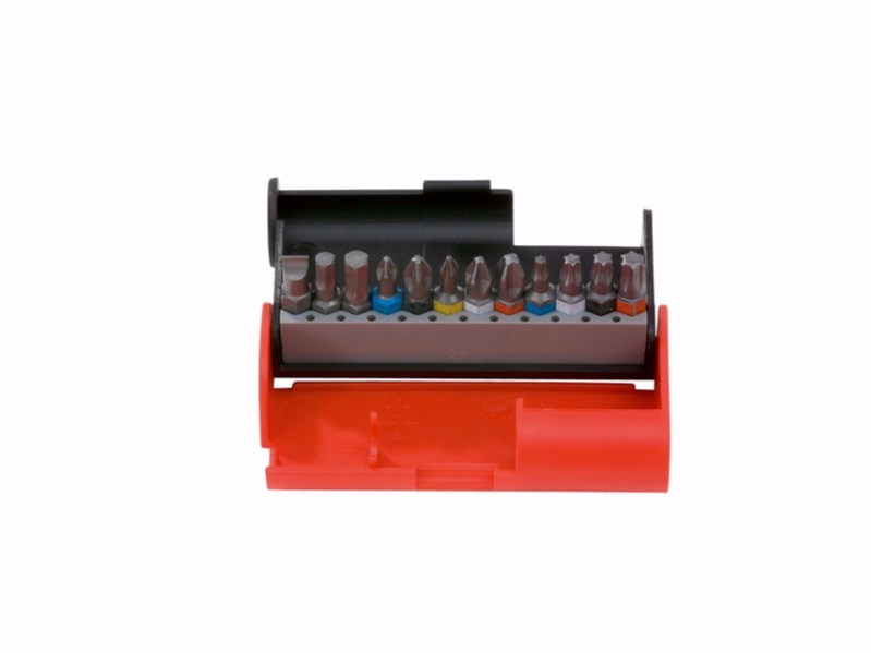 Manual tool Bit box PH PZ TX 12 pcs. - Würth