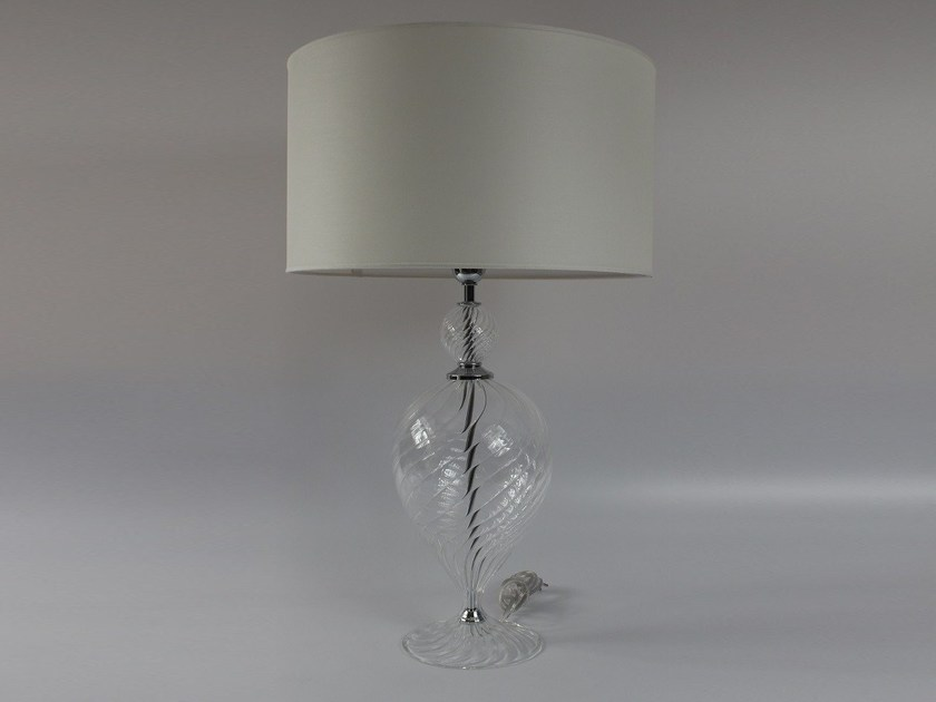 Handmade blown glass table lamp 1002 | Blown glass table lamp - Ipsilon PARALUMI