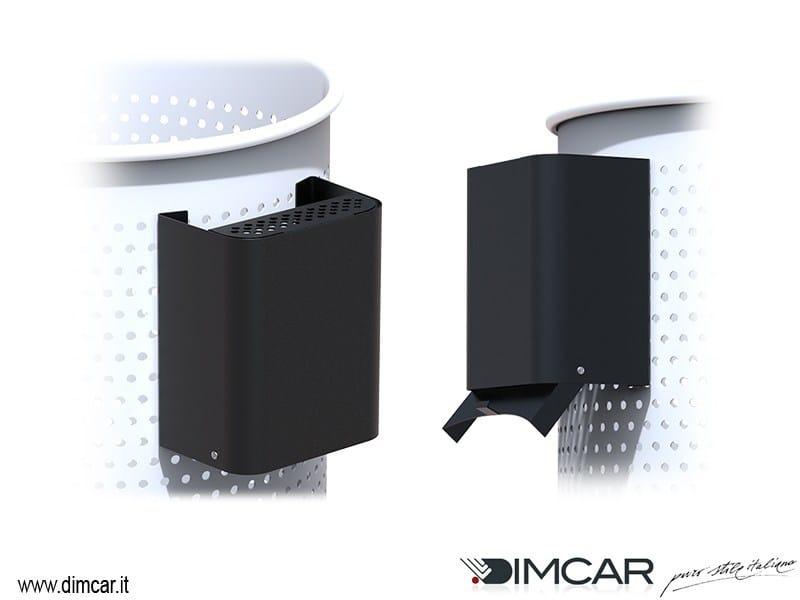 Posacenere per spazi pubblici in acciaio Bond by DIMCAR