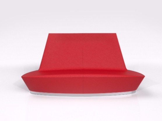 Sectional Adamantx® sofa C LOUNGE - ZAD ITALY