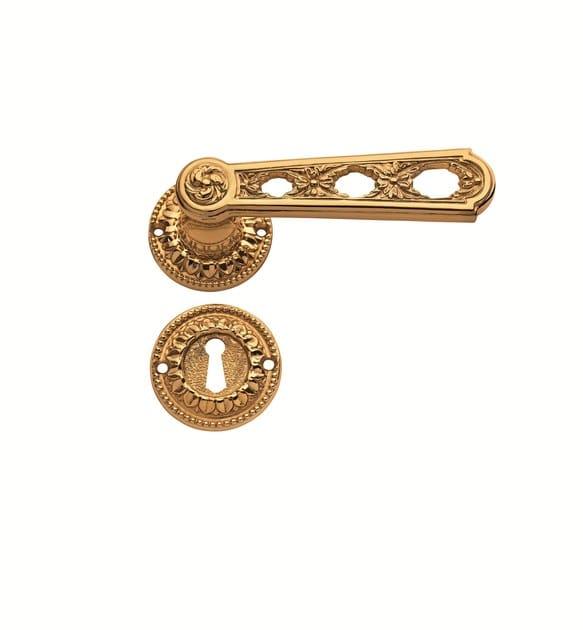 Brass door handle C05011 - PAOLINA | Brass door handle - Enrico Cassina