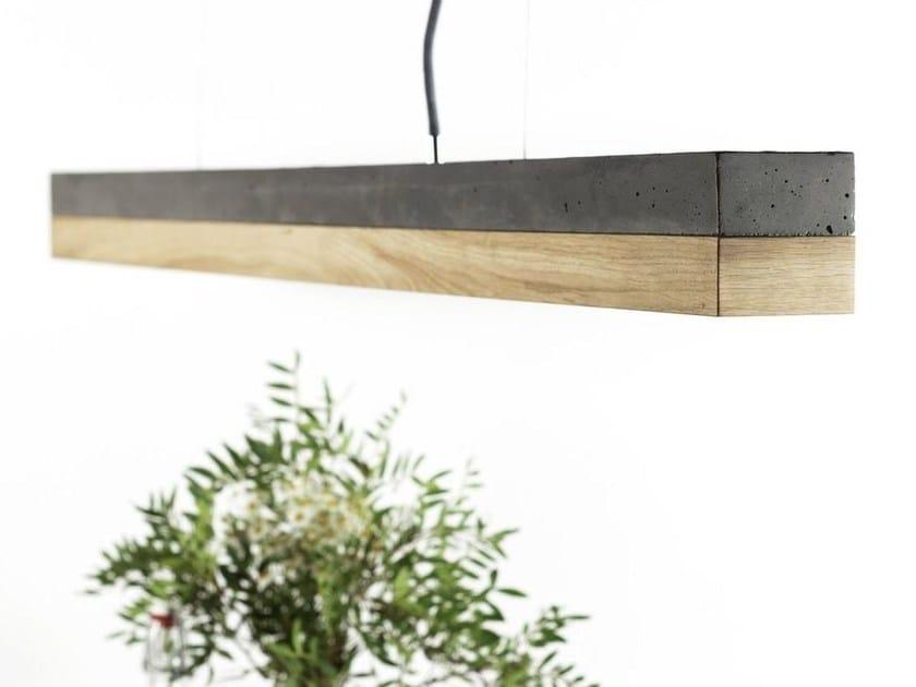 Dimmable LED pendant light [C1] DARK OAK by GANTlights