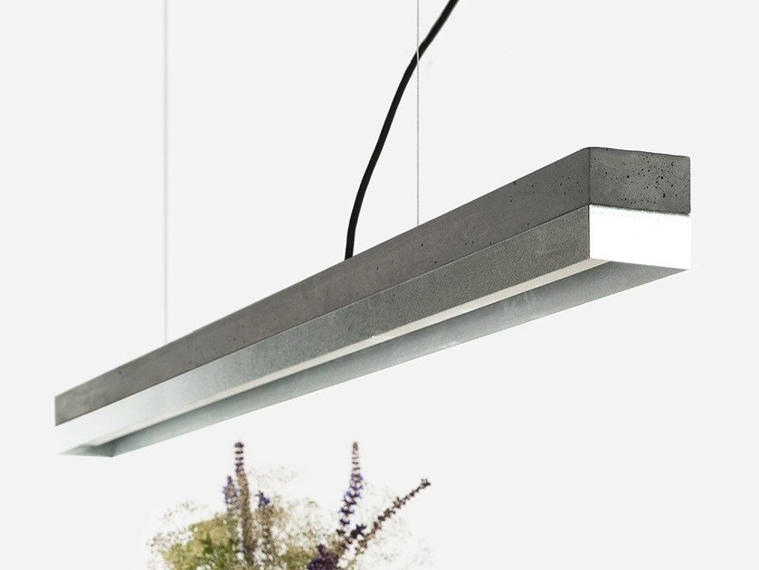 LED direct light zinc pendant lamp [C1] DARK ZINC - GANTlights