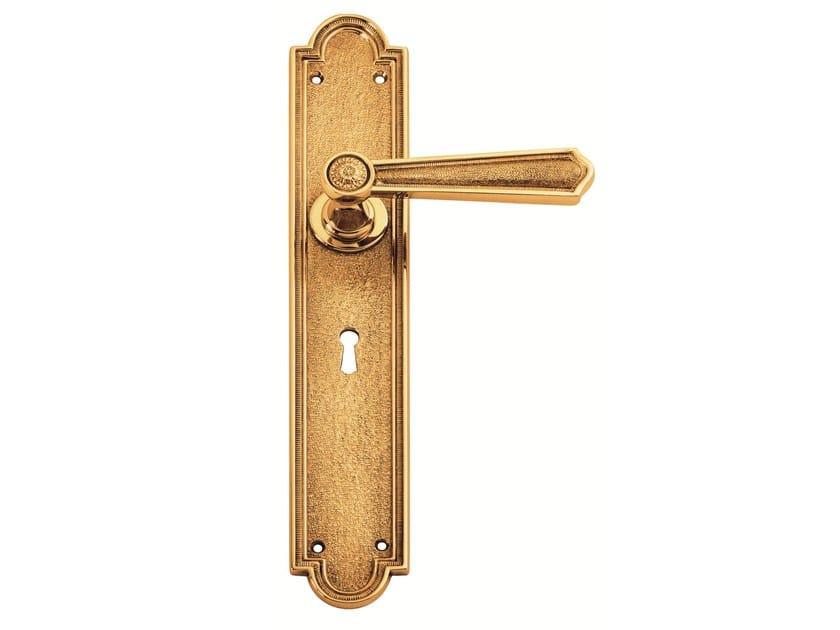 Brass door handle C13510 - MATILDE | Brass door handle - Enrico Cassina