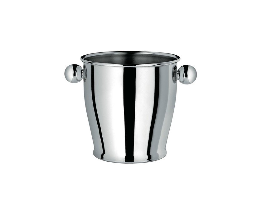 Stainless steel ice bucket CA71 | Ice bucket by Alessi