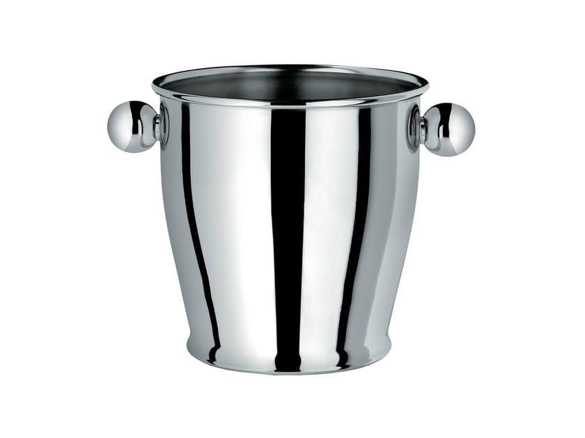 Stainless steel ice bucket CA72   Ice bucket - ALESSI