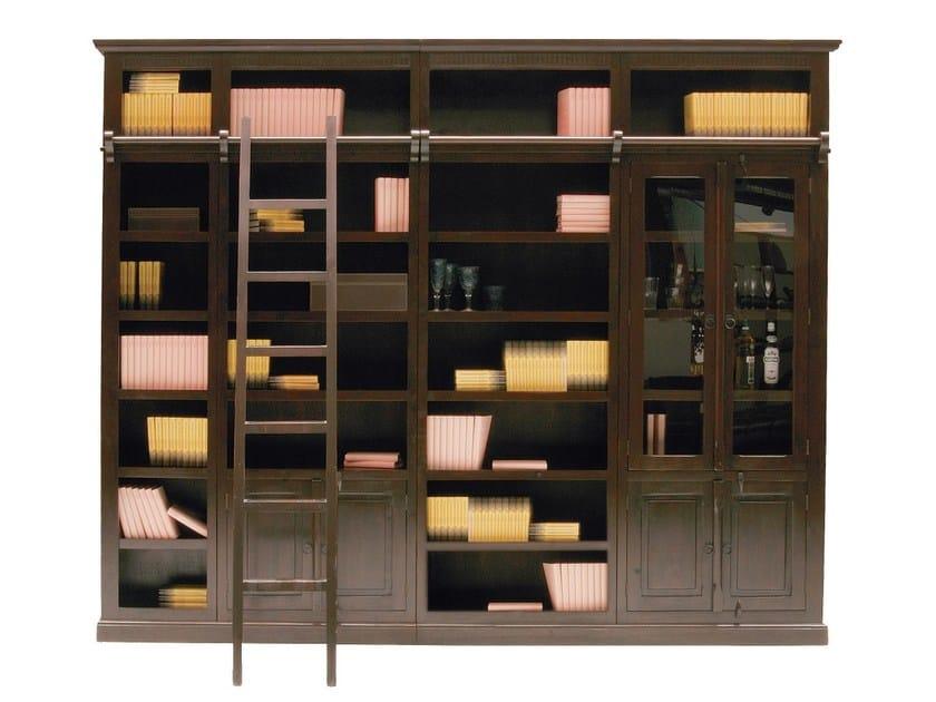 Open wooden bookcase CABANA | Open bookcase - KARE-DESIGN