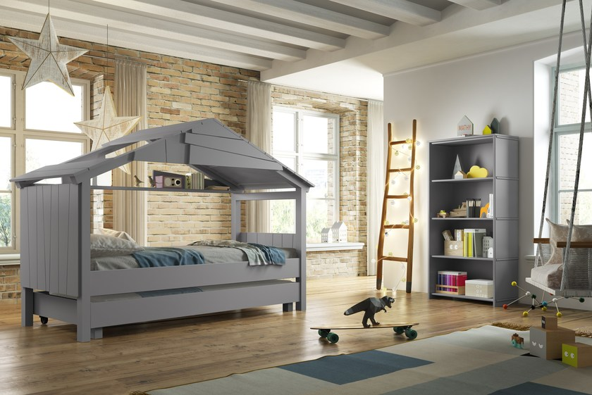 lit gigogne pour chambre d 39 enfant cabane star by mathy by bols design fran ois lamazerolles. Black Bedroom Furniture Sets. Home Design Ideas