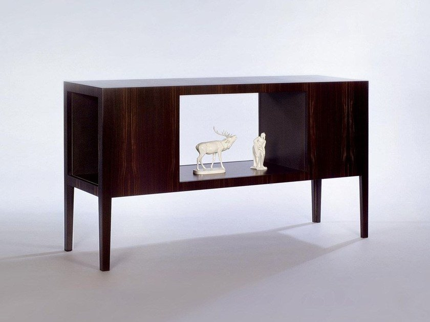 Double-sided wooden sideboard CABINET by Morgen