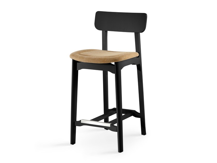 Upholstered counter stool CACAO SG-65 - CHAIRS & MORE