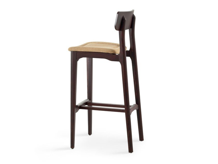 Upholstered counter stool CACAO SG-80 - CHAIRS & MORE