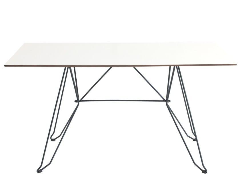 Rectangular table CADAQUES - iSimar