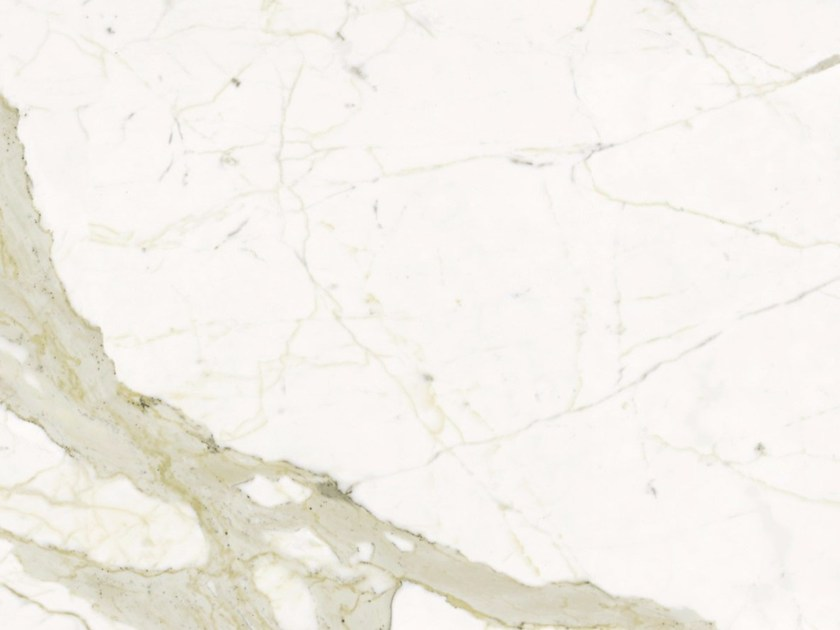 Porcelain stoneware wall/floor tiles with marble effect CALACATTA A/B - GranitiFiandre