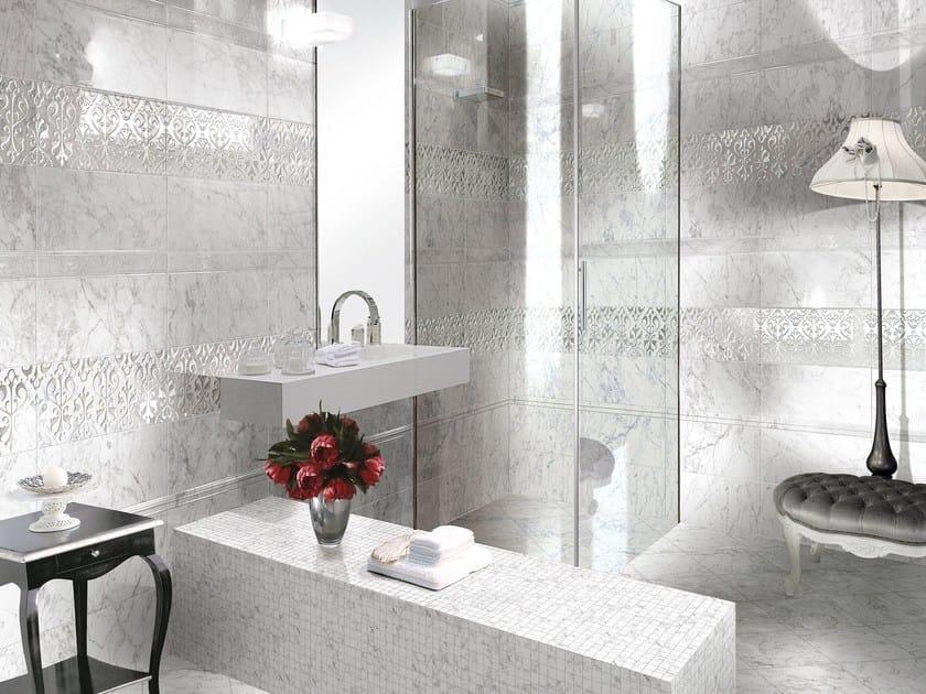 Wall/floor tiles with marble effect CALCATTA&CARRARA - CERAMICHE BRENNERO