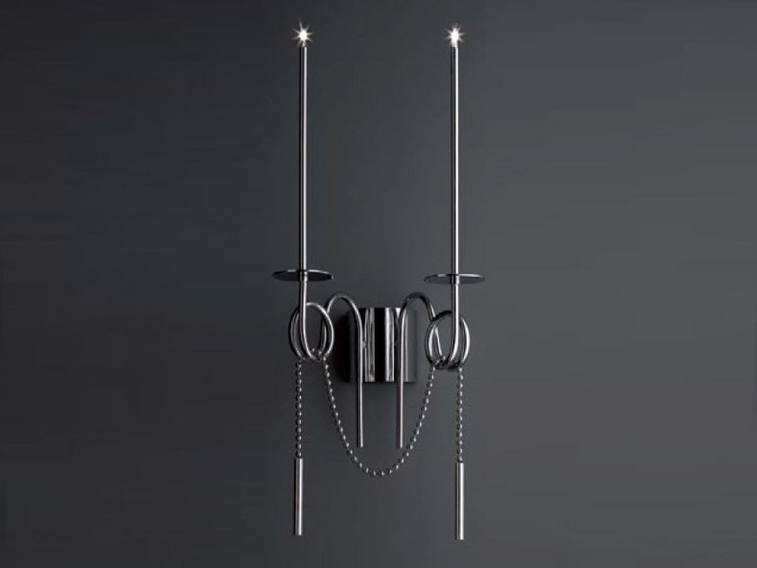 LED steel wall lamp CALLIGRAFICO | Wall lamp - SP Light and Design