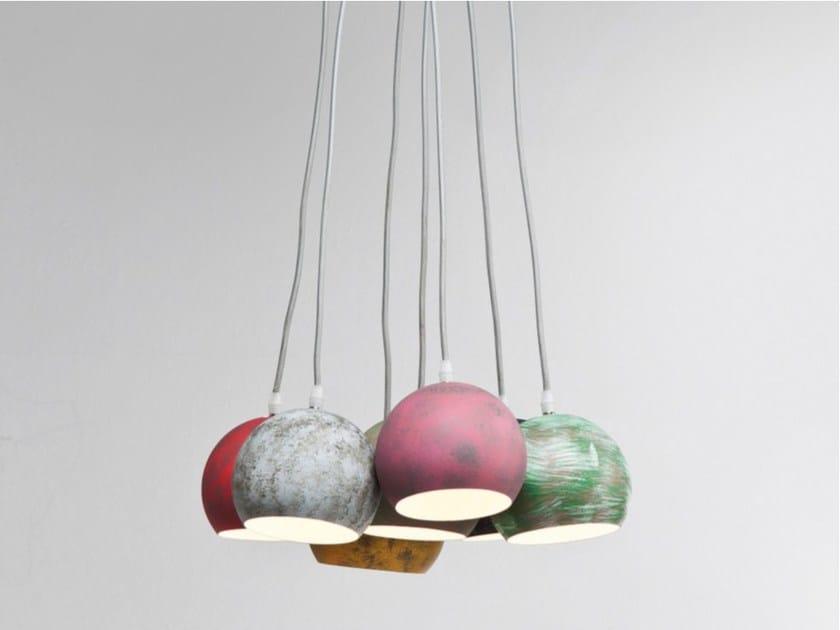 PVC pendant lamp CALOTTA ANTICO - KARE-DESIGN