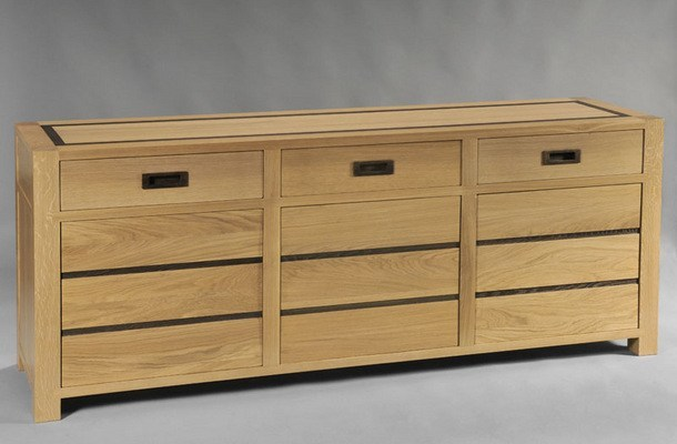 Wooden sideboard CAMÉLIA 903 - DASRAS