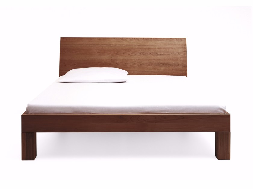 Contemporary style wooden double bed CAMA - more