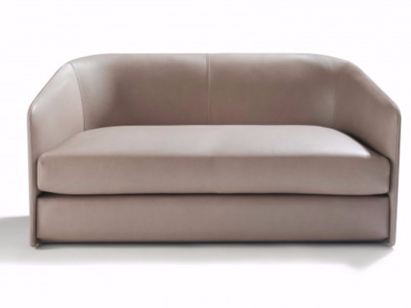 2 seater leather sofa CAMILLE - Canapés Duvivier
