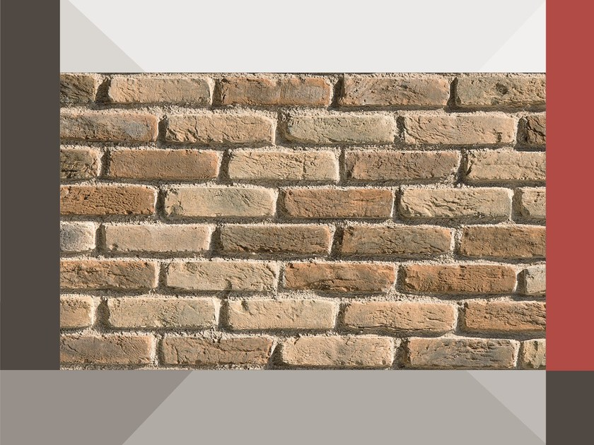 Wall tiles with terracotta effect CAMPESINO MR03 TERRAKOTTA by GEOPIETRA®