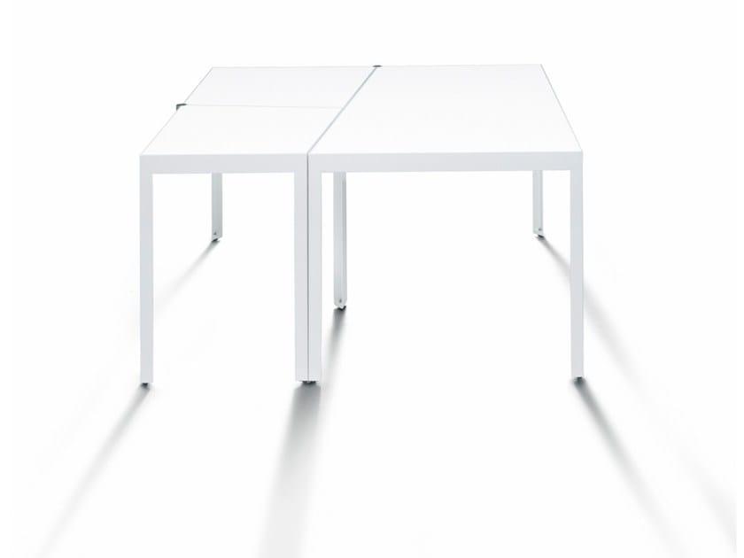 Tavolo a geometria variabile campo d 39 oro de padova - Tavolo de padova quadrato ...