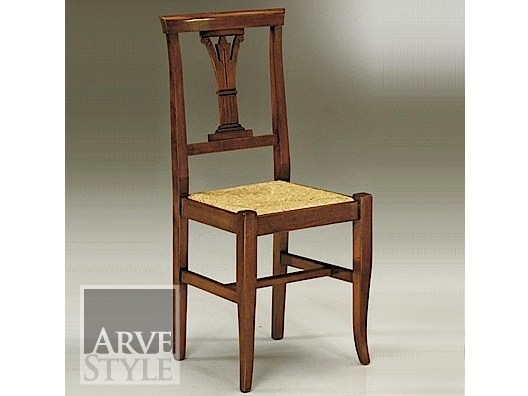 Open back chair CANALETTO | Straw chair by Arvestyle