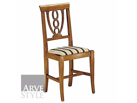 Open back solid wood chair CANALETTO | Open back chair by Arvestyle