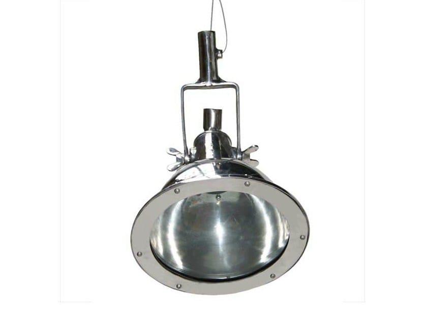 Direct light handmade aluminium pendant lamp CANBERRA SMALL ALUMINIUM CARGO LIGHT | Aluminium pendant lamp - Mullan Lighting