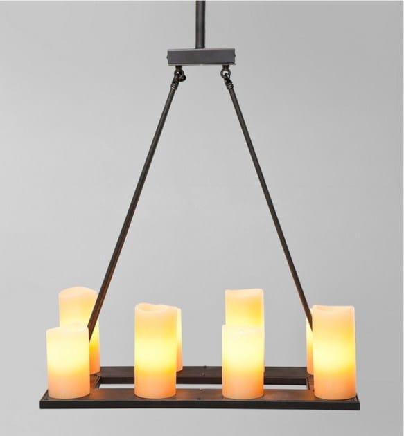 LED indirect light pendant lamp CANDLE LIGHT 8-LITE - KARE-DESIGN