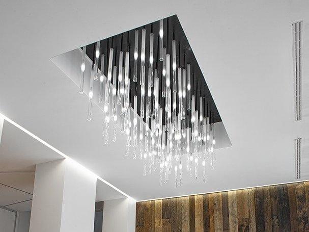 Glass pendant lamp CANDLE | Pendant lamp - PANZERI
