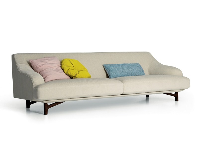 Upholstered fabric sofa CANDY - arflex
