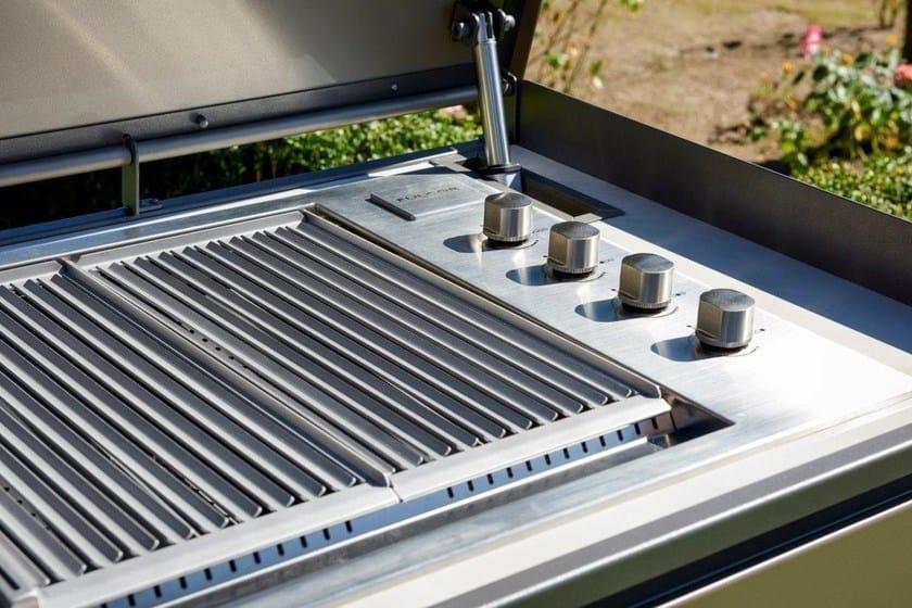 Cucina da esterno a gas con barbecue cucina da esterno con - Barbecue da esterno a gas ...