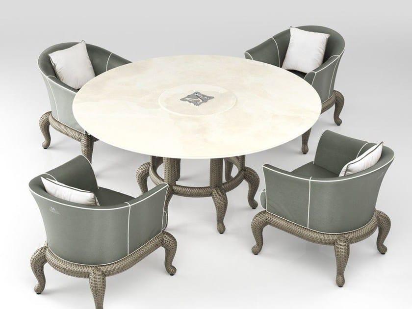 Garden table CANOPO T2 | Garden table by Samuele Mazza by DFN
