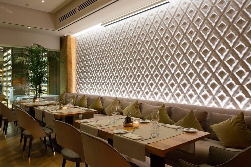 Pannello con effetti tridimensionali capitonn 3d surface - Pannelli decorativi in polistirolo pareti interne ...