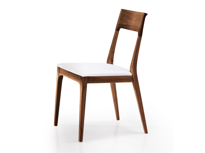 Upholstered solid wood chair CAPRI by Oliver B.