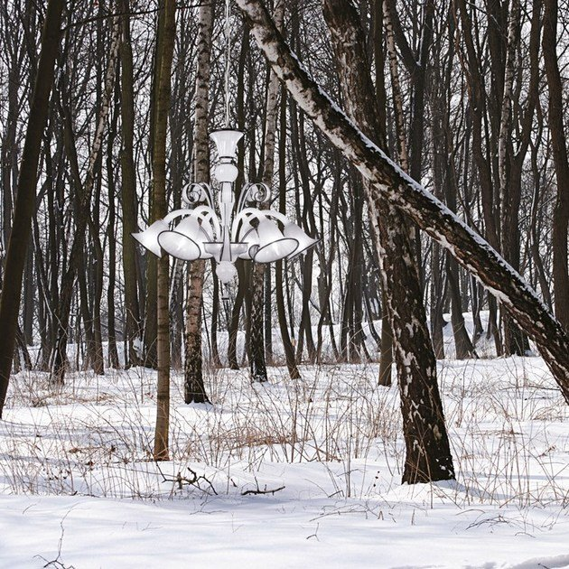 Classic style handmade glass chandelier CAPRICCIO 560 | Murano glass chandelier - MULTIFORME