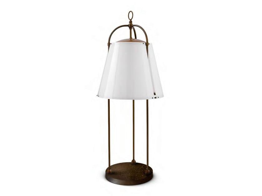 Brass Floor lamp CAPRIFOGLIO - Aldo Bernardi