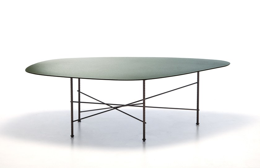 Aluminium table CARATO - Potocco