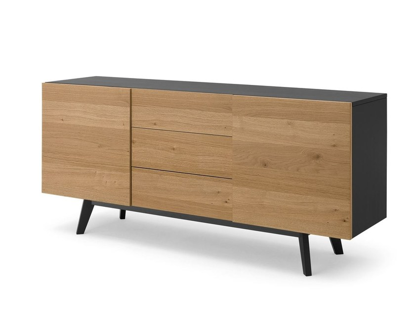 Sideboard with doors CARGO-2C | Sideboard - DOMITALIA