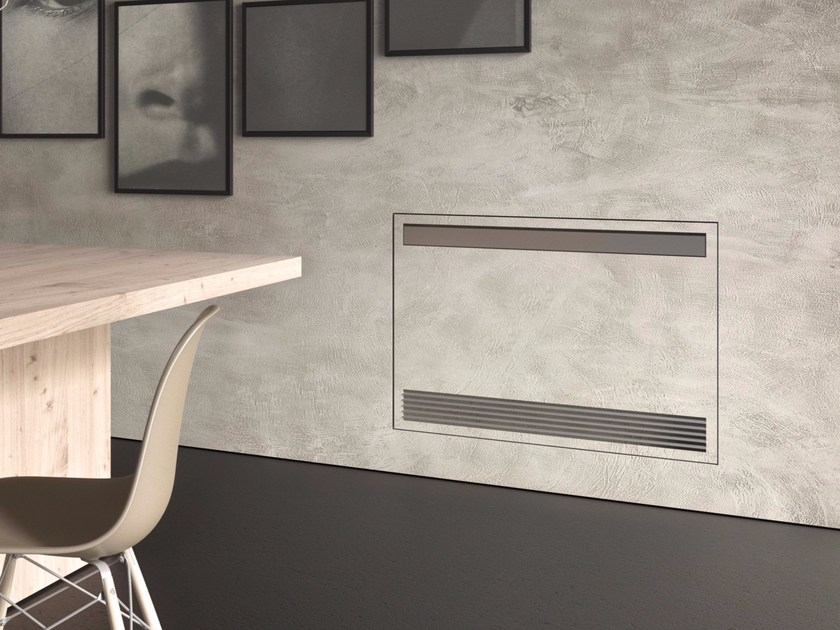 Wall-mounted built-in fan coil unit CARISMA BREEZE - SABIANA