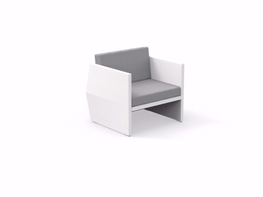 Armchair with armrests CARLOS | Garden armchair by Talenti