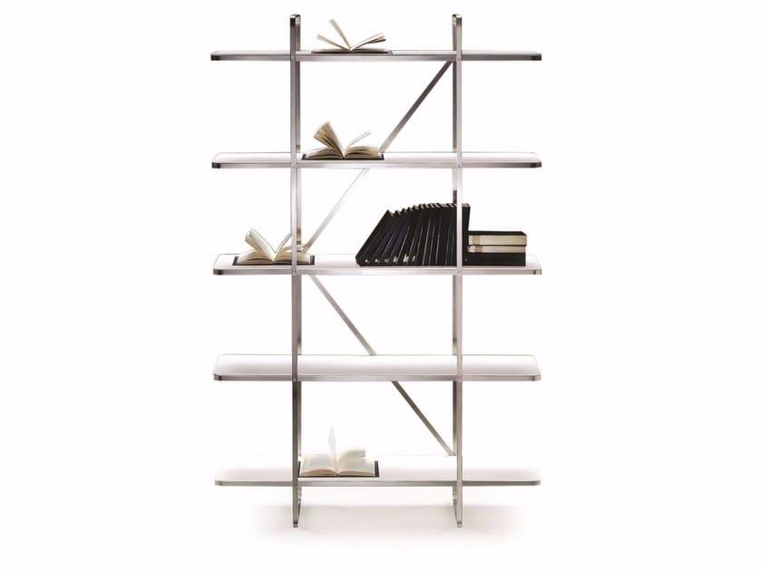 Wooden bookcase CARLOTTA | Bookcase - FLEXFORM