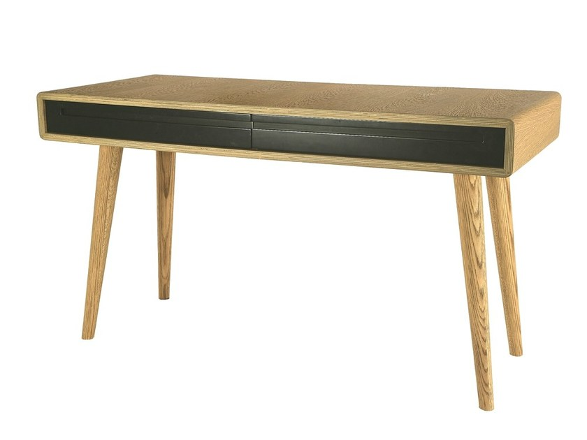 MDF secretary desk CARVOEIRO | Secretary desk - Branco sobre Branco