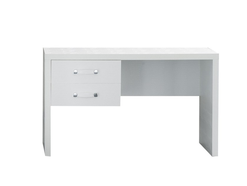 Lacquered wood-product writing desk with drawers CASABLANCA | Writing desk by Chaarme