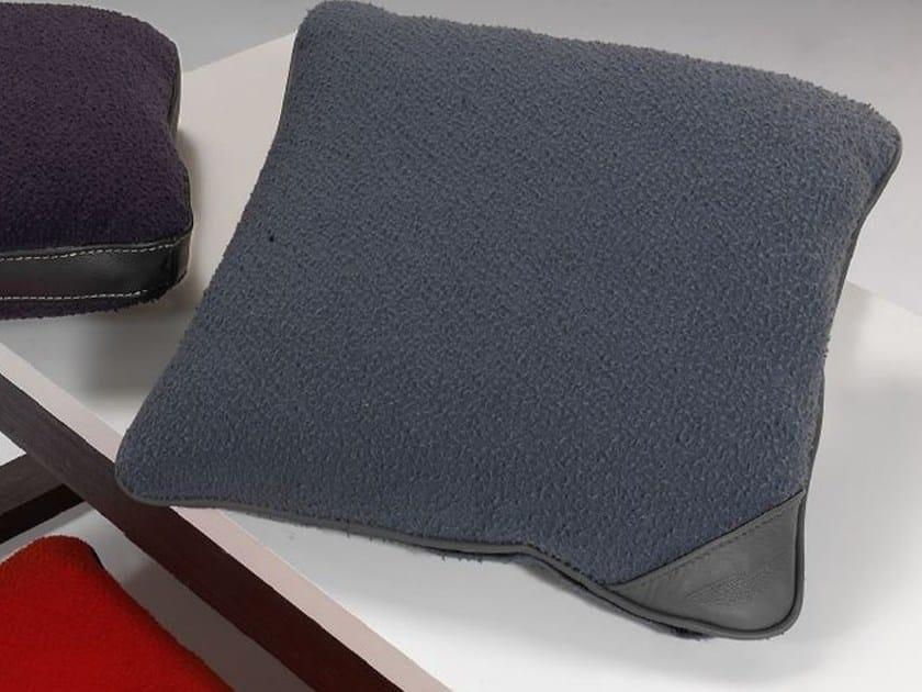 Square wool sofa cushion CASENTINO WOOL - Aston Martin