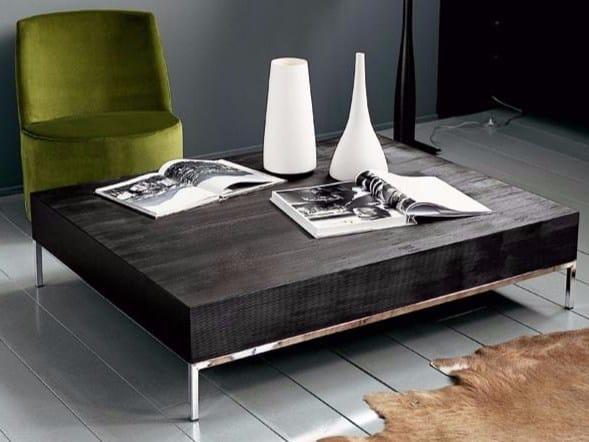 Low rectangular MDF coffee table CASKET RIGO - Casamilano