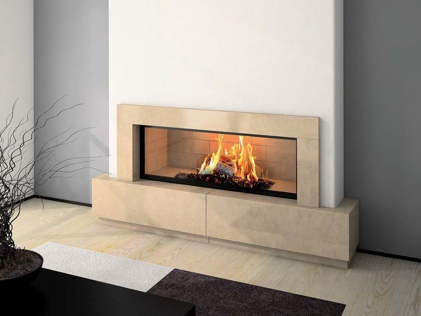 Stone Fireplace Mantel CASSANDRE - Axis