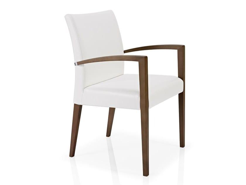 Chair with armrests CASSIS | Chair with armrests - J. MOREIRA DA SILVA & FILHOS, SA