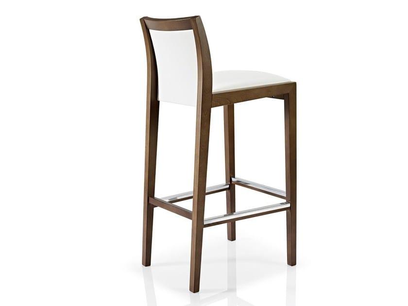 Fabric counter stool with footrest CASSIS | Counter stool - J. MOREIRA DA SILVA & FILHOS, SA